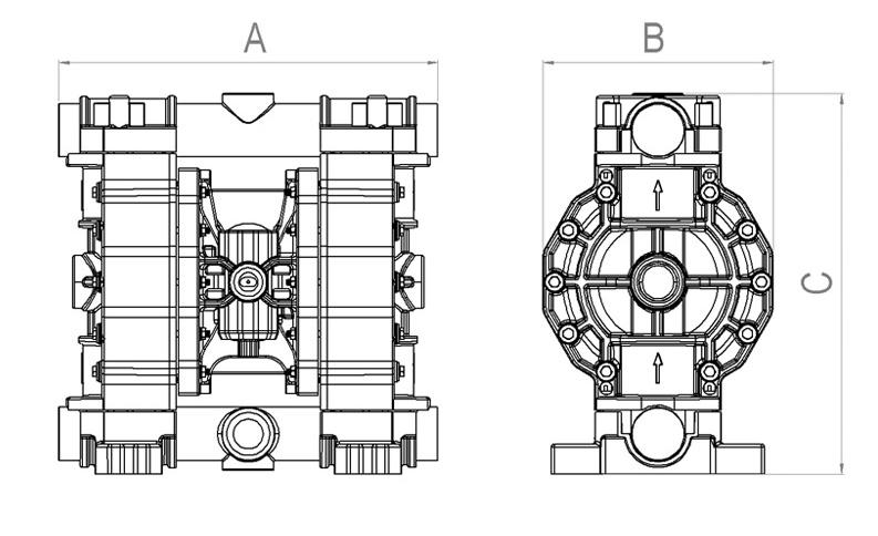 Dimensions Jp 810 170 250